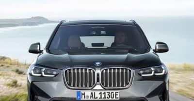 BMW X3 に改良新型、表情一新…欧州発表