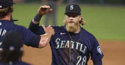 【MLB】本塁打キャッチ→併殺完成が「すごいの一言」 野手の執念が生んだ「素晴らしい守備」