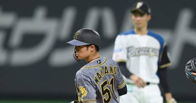 阪神のドラ6中野が交流戦盗塁王 成功率100%でセの盗塁王争いでもトップに並ぶ