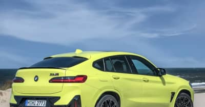 BMW X4 に改良新型に最強「M」、0-100kmh加速は3.8秒に短縮…欧州発表