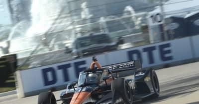 オワードがポール奪取。琢磨はQ1通過ならず【順位結果】インディカー第7戦デトロイト・レース1予選