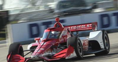 エリクソンが初優勝。琢磨は表彰台逃す【順位結果】インディカー第7戦デトロイト・レース1決勝