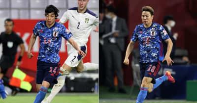 日本代表のスピード王!伊東純也と浅野拓磨、「地上目線」だと速さがエグい