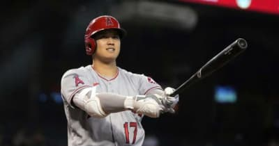 【MLB】大谷翔平は「アンリアル!」 登板翌日に代打で今季初安打、名物解説は絶叫称賛
