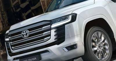 【ランドクルーザー新旧維持費比較】トヨタ 新型ランドクルーザー300は現行モデルより自動車税が3万円も安い