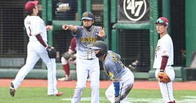 阪神・矢野監督 決勝点呼んだ梅野の四球&盗塁称える「諦めない野球できた」