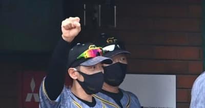 阪神・矢野監督 交流戦のドラ1佐藤輝に「期待値がどんどん上がるのは素晴らしい」