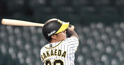 阪神・ドラ4栄枝 2軍でプロ初本塁打 平田監督「まぐれの一発やな」