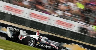 ペンスキーの未勝利記録ストップなるか? ニューガーデンが今季初ポール【順位結果】インディカー第8戦デトロイト・レース2予選