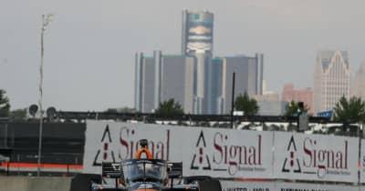 パト・オワードが大逆転で今季2勝目【順位結果】インディカー第8戦デトロイト・レース2決勝