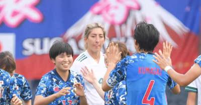 18歳・木下桃香がなでしこ初弾 五輪メンバー発表前ラスト一戦で猛アピール!