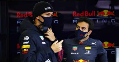 レッドブル・ホンダF1での初優勝を挙げたペレス、アルボンに感謝「僕が早くなじめるよう、すべてを教えてくれた」