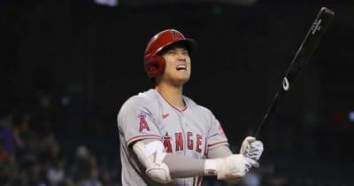 【MLB】大谷翔平、代打で空振り三振 打率.269、エ軍は今季初6連勝で43日ぶり貯金1