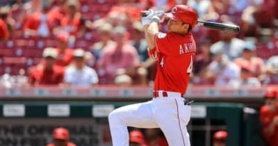 【MLB】秋山翔吾、代打で右越え二塁打 6月は打率.357、指揮官称賛「感心すべき成長」