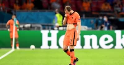 親友エリクセン倒れる…心筋炎を患ったブリントが涙 「EURO初戦欠場も考えた」