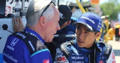 前日の勢いを維持できず12位で終えた佐藤琢磨「昨日ほどうまくはいかなかった」