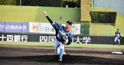 四国ILp 徳島が快勝し、香川の眼前での胴上げ阻止 楢嵜が5回1失点の好投