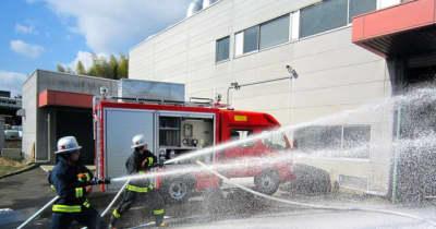 モリタ、泡で消す消防車の国内納入実績が2000台突破…巡回点検サービスを実施