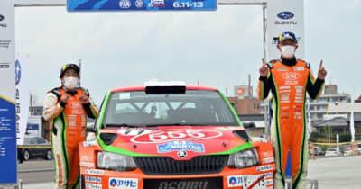 ロングステージ3本で争われた新生モントレーは福永が逆転優勝/全日本ラリー第6戦