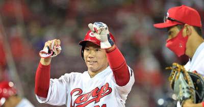広島・坂倉が勝ち越し三塁打「しっかり振り抜くことができた」攻守で貢献