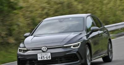 【VW ゴルフ R-Line 新型試乗】気持ち良さは、もはや「GTI」レベル…島崎七生人