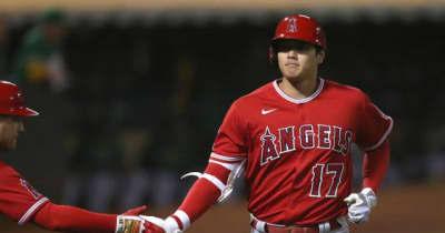 【MLB】大谷翔平、リーグ2位タイの特大18号ソロ 打率.267、エ軍2連敗で再び借金1