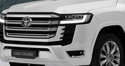 トヨタ 新型ランドクルーザー300はスマホ置くだけ充電やアップル カープレイにも対応! 注目は設置位置が変更された走行モード切り替えボタンにあり