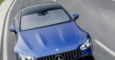 メルセデスAMG GT 4ドアクーペ に2022年型、エアサスを改良…欧州発表
