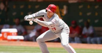 【MLB】大谷翔平、2試合連発19号ソロ&絶妙バント安打で5戦ぶりマルチ 2年ぶり10盗塁も