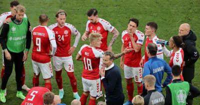 エリクセン昏倒の試合、「直後の再開はおかしい」デンマーク会長が抗議