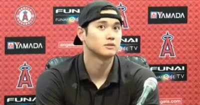 【MLB】大谷翔平が2戦連発19号 連日の左投手攻略「苦手と思ってない。慣れが大きい」