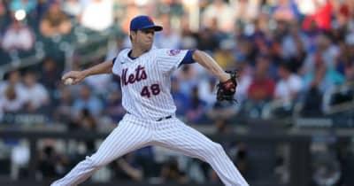 【MLB】無双デグロムが右肩痛で負傷降板 3回8K完全投球で防御率0.54、適時打で打率.423も