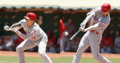 「オオタニの素晴らしさが表れていた」MLB公式サイトも特大弾&バント安打を絶賛