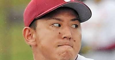 楽天・福井が2回無失点 今季初登板「しっかり投げられたかな」