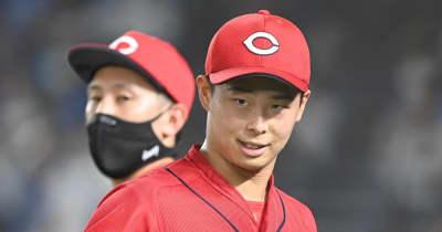 先発崩壊救った!広島の20歳・玉村昇悟がプロ初勝利「もっともっと勝てるように」