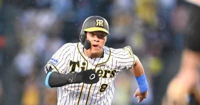 佐藤輝から阪神1イニング3タイムリー 巨人戦初アーチお預けも甲子園打率1位・310