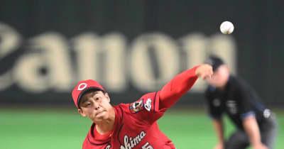 カープ玉村、高校入試の日に「プロ野球選手になります」宣言 越前ガニの町に新ヒーロー