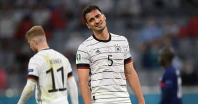 EUROで痛恨オウンゴールのフメルス、3歳息子が喜んでいたワケを明かす