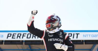 ニューガーデンが2戦連続ポール奪取。琢磨はQ1敗退/インディカー第9戦ロード・アメリカ予選