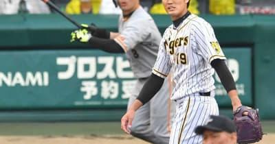 阪神・矢野監督「もったいない」巨人に3被弾、伊藤将2死から2発 連勝7でストップ