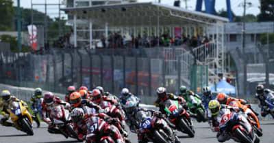 作本輝介が9番手から追い上げて初勝利。4レース連続ホンダが優勝奪取/全日本ロード第4戦筑波 ST1000 レース2