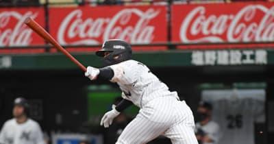 ロッテ・中村奨 先制打含む2安打で再び打率2位「後ろにつなぐ気持ちで」
