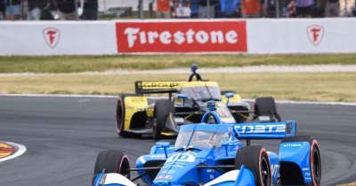パロウが残り2周の逆転勝利。再びポイントリーダーに【順位結果】インディカー第9戦ロード・アメリカ決勝レース