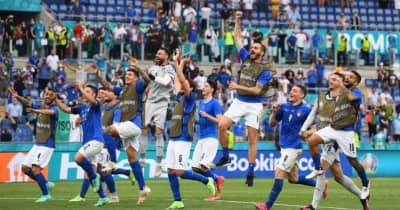 EUROでも鉄壁のイタリア代表、なんと無失点時間が「1000分」突破