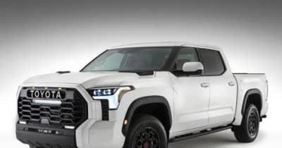 トヨタ タンドラ 新型、写真公開…間もなく米国で正式発表へ