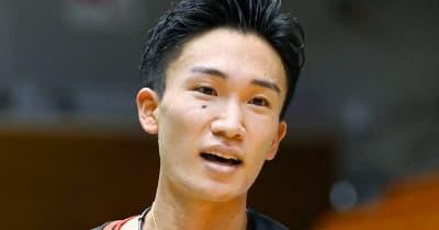 朴HC 桃田賢斗は「金メダルのチャンス」初五輪も「大きな大会の優勝経験ある」