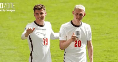 イングランドがEURO優勝すれば全員金髪に⁉︎ フォデンが仲間との約束を明かす「みんな同じ髪型でトロフィーを…」