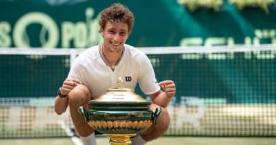 フェデラー、錦織も早期敗退のハレ、22歳のノーシード選手が優勝[ATP500 ハレ]