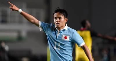 U-24日本代表、東京五輪メンバー18名が決定!J1首位川崎から最多の3名