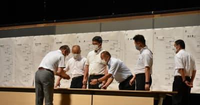 兵庫大会の組み合わせ決まる 選手宣誓は神戸弘陵 女子野球部員が始球式で登板へ